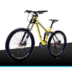 Geländerad Radsport 21 Geschwindigkeit 26 Zoll/700CC 60mm Herren / Unisex EF51-8 Doppelte Scheibenbremsen FedergabelVollfederung /