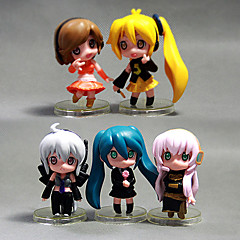Overige Hatsune Miku PVC Anime Action Figures model Toys Doll Toy