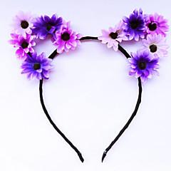 Bruiloft / Feest / Dagelijks / Causaal / n.v.t.-Haarbanden / Fascinators / Hoofd Sieraden(Legering / Stof,Diverse Kleuren)