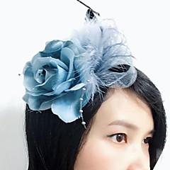 נשים נוצה / בד / רשת כיסוי ראש-חתונה / אירוע מיוחד קישוטי שיער חלק 1