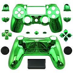 Ersatz-Controller Fall für PS4-Steuerung PS4 Fall Plattierung grün / blau