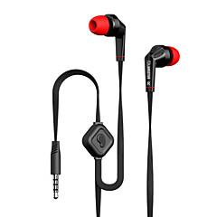 langsdom jd88 drive-by-wire metal oortelefoon in-ear hoofdtelefoon met microfoon volumeregeling geluidsisolerende headset