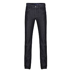 zeven Brand® Heren Jeans Broek Zwart Fade-703S852888