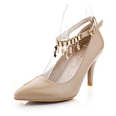 Women's Shoes PVC / Leatherette Stiletto Heel Heels Heels Wedding / Office & Career / Dress / CasualBlack / Blue
