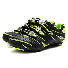 Tiebao Tênis Sapatos para Ciclismo Unisexo Anti-Escorregar Almofadado Ventilação Anti-desgaste Respirável Ao ar Livre Bicicleta de Estrada