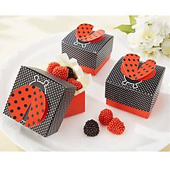 Geschenkboxen(Schwarz,Kartonpapier) -Nicht personalisiert-Hochzeit / Jubliläum / Brautparty / Babyparty / Quinceañera & Der 16te