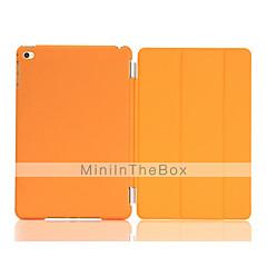 Solid Color Auto Sleep/Wake Up PU Folding Case Cover  for iPad mini 4 (Assorted Colors)