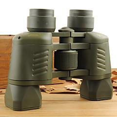 50X 35 mm Binóculos Alta Definição / Visão Nocturna 56M/1000M Foco Independente Revestimento Múltiplo Uso Genérico Normal Verde