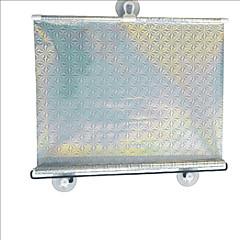 carking מגן ™ צל שמש החלון רולר רכב רכב נסיג עיוור עם כוסות יניקה (58 * 125)