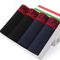 L'ALPINA Herren Baumwolle Kurze Boxershorts 4 / box - 21129