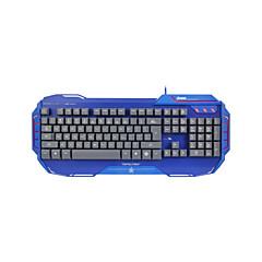 דואר 3lue ekm741 מקלדת משחקי USB כללית סמיכה cf חחח
