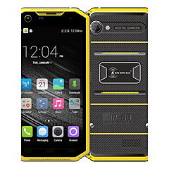 "Kenxinda PRONFINGS W7 5.0 "" Android 5.1 4G smarttelefon ( Dobbelt SIM Quad Core 8 MP 1GB + 8 GB Grå / Yellow )"