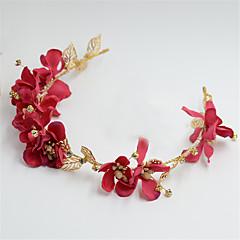 Femme / Jeune bouquetière Alliage / Tissu Casque-Mariage / Occasion spéciale Serre-tête 1 Pièce Rond