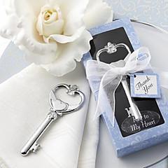 Hearts Bottle Opener Wedding Favors