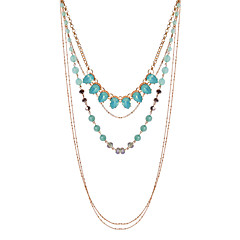 LGSP Women's Alloy Necklace  Daily Turquoise-61161023