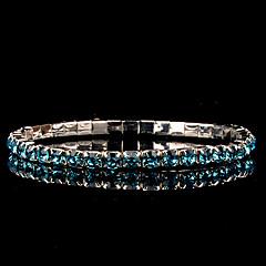 Legering Dames Ronde Armbanden Armbanden Bergkristal