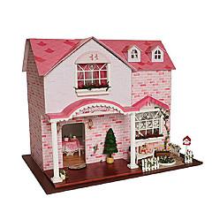 diy cabane chi fun house sweetheart rose maison fait à la main cadeau d'anniversaire créatif pour envoyer les filles