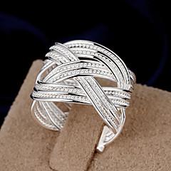 Prstýnky Módní Svatební / Párty / Denní / Ležérní Šperky Dámské Midi prsteny 1ks,Nastavitelný Stříbrná