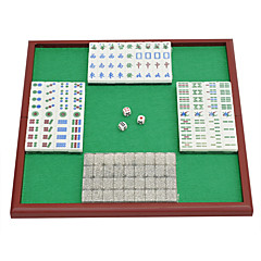 Royal St. miniatura de cristal mahjong mahjong mahjong turismo 20 milímetros de marfim / box