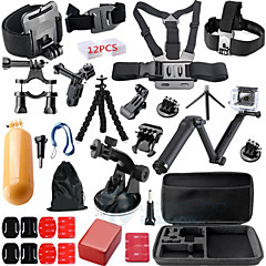 Gopro Accessories Telescopic Pole / Chest Harness / Front Mounting / Monopod / Tripod / Accessory KitWaterproof / All in One / Convenient