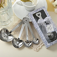 Recipient Gifts - 1Piece/Set , Heart Shaped Measuring Spoons Wedding Favors