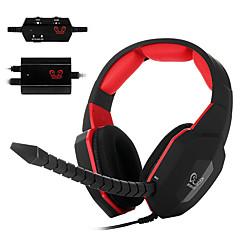 ho-939mv décodeur optique jeux vidéo casque sur l'oreille casque micro amovible pour pc / mac / xbox one / xbox 360 / ps3 / PS4