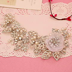 Women's Rhinestone / Tulle / Imitation Pearl Headpiece-Wedding / Special Occasion Headbands 1 Piece