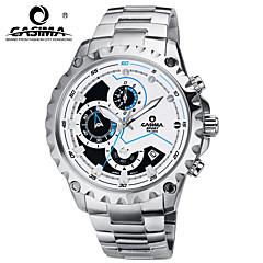 Armbanduhr-Stahl-Quarz- fürHerrn