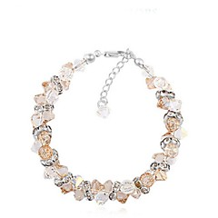 Thousands of colors  Women's Chain Bracelet Alloy Crystal-3-211