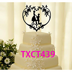 Cake Topper Non-personalized Classic Couple Acrylic