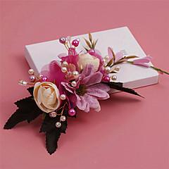 Women's Rhinestone / Crystal / Imitation Pearl / Fabric Headpiece-Wedding / Special Occasion Flowers / Hair Clip 1 Piece