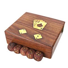 Royal St cartões nova caixa de poker hua Limu / receber um caso com hua limu dados caixa de dados do póquer (excluindo o poker)