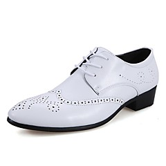 Men's Shoes Wedding / Outdoor / Office & Career / Party & Evening / Dress / Casual Synthetic Oxfords Black / White