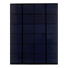 5.5w 6v pet laminert monokrystallinske silisium solcellepanel solcelle for DIY (sw5506)