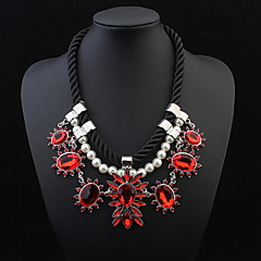 Delicate Flowers Blossoming Fashion High-End Jewelry Necklace
