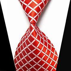 אופנתי / צלב לבן / אדום בד גברים Tie Bar-1pc