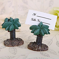 Beter Gifts® 4pcs Tropical Coconut Tree Place card Holder Wedding Décor, Party Decoration