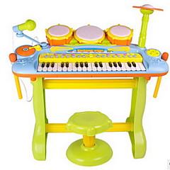 Toy música Plástico Arco-Íris Puzzle brinquedo Toy música