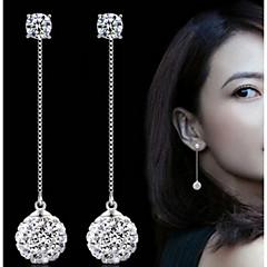 Σκουλαρίκι Circle Shape Κοσμήματα 1 ζευγάρι Απομίμηση Μαργαριταριού / Μοντέρνα / Λατρευτός Πάρτι / Καθημερινά Μαργαριτάρι / Κράμα