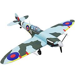 Dynam Spitfire 1:8 Moteur Sans Balais 50KM/H Quadrirotor RC 5canaux 2.4G EPO Green Assemblement requis