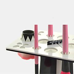 MAKE-UP FOR YOU Makeup Brush Drying Rack(Black+White)