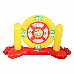 물 놀이기구 야외 장난감 원형 / 사각형 PVC 실버 / 화이트 아동용 전체