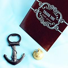 Beter Gifts®Recipient Gifts - 1Piece/Set - Summer Nautical Anchor Bottle Opener in Giftbag Wedding Favors