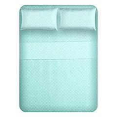 """Blattsatz, 4-teilig Mikrofaser blauen Boden Wunsch mit 12 """"Taschentiefe"""