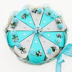 Geschenkboxen(Grau / Himmelblau,Kartonpapier) -Nicht personalisiert-Quinceañera & Der 16te Geburtstag / Geburtstag / Hochzeit / Jubliläum