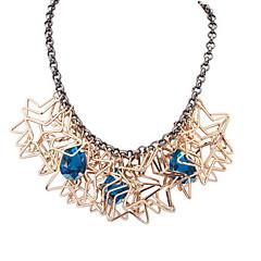 Fashion Irregular Pentagram Necklace
