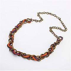 Simple Fashion Twist Braided Necklace