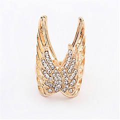 Fashion Exaggeration Ring Hollow Butterfly