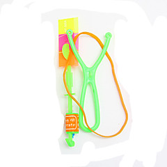 Flying Rocket Shape Outdoor Toy with Shining LED for Child Kid
