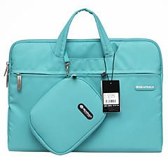 gearmax® 14 tuuman / 15 tuuman vedenpitävä kannettavien laptop tapauksessa / pussi yksivärinen sininen / vihreä / vaaleanpunainen / harmaa